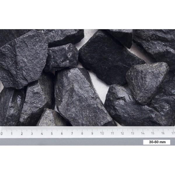Basalt brokjes zwart